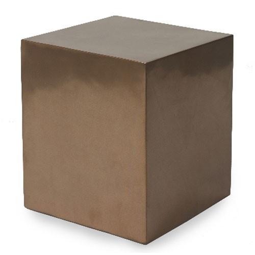 Bronze Dekosäule | Höhe 40 cm
