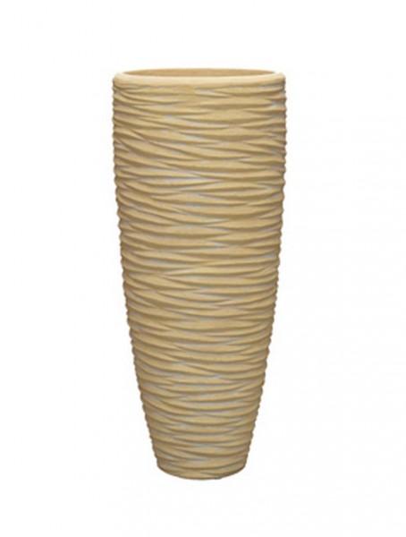 Seaside Partner Naturel - Polystone Pflanzvase 70 cm