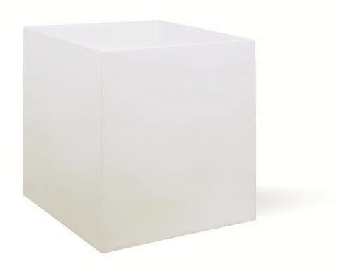Cubus-Pflanzkübel-weiß-übertopf-eckig