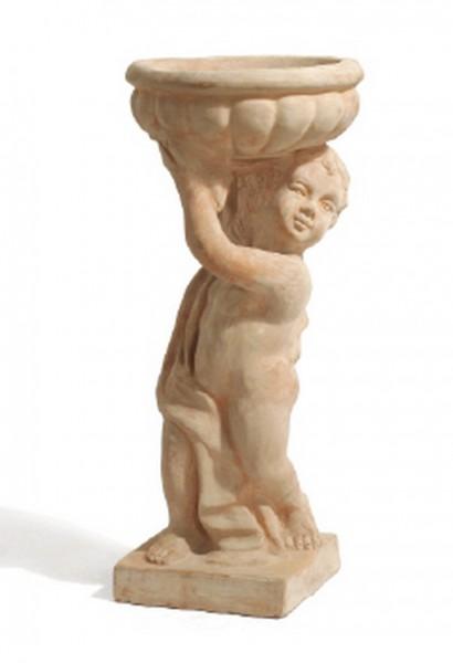 Junge Angelo hält Schale - Rossini Terracotta