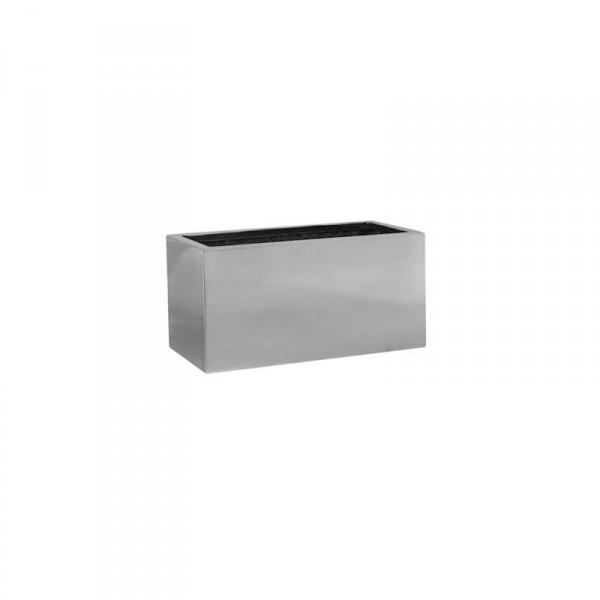 Balcony Pflanzkasten 40 cm - Platinum Collection Silber