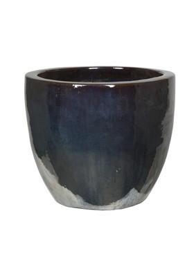 Couple Pflanzkübel | Metallglanz Keramik