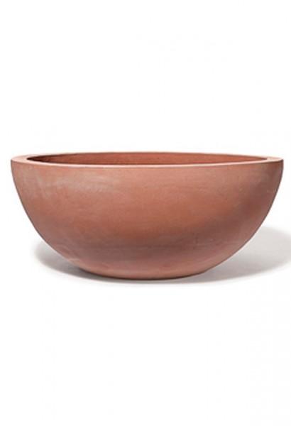 Schale-Emisfera-TerraDura-Impruneta-Line-Terracotta-Pflanzschale