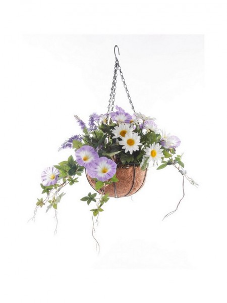 Ampel Blumen mix pink - hanging basket 25 cm
