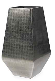Square Silver Pflanzschale 110 cm Höhe