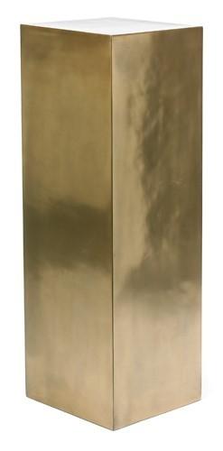 Kunststoff Dekosäule Bronze | Höhe 100 cm