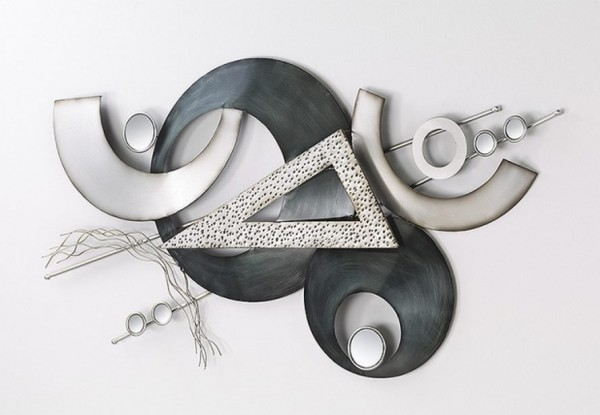 Tritus Wandbild Aus Metall