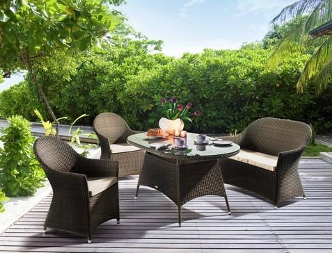 Tosia Gartenmöbel Set | Polyrattan