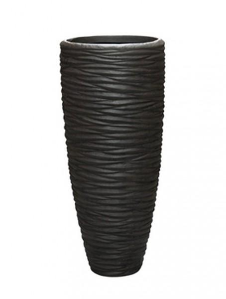 Seaside Partner Braun - Polystone Pflanzvase 70 cm
