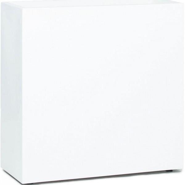 Premium Block Raumteiler - Pflanzkübel weiß   Die Palme