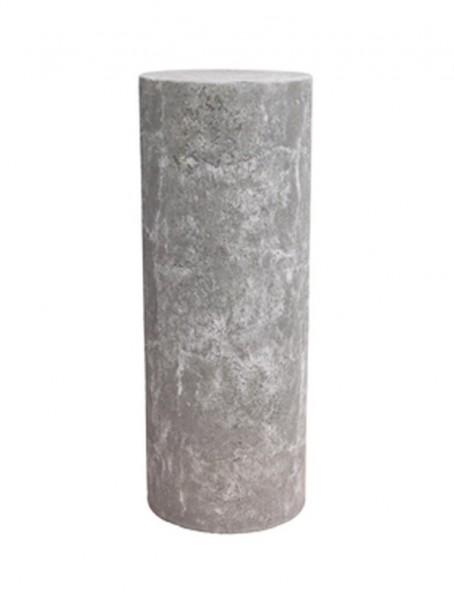 Polystone Dekosaule lavagrau | rund