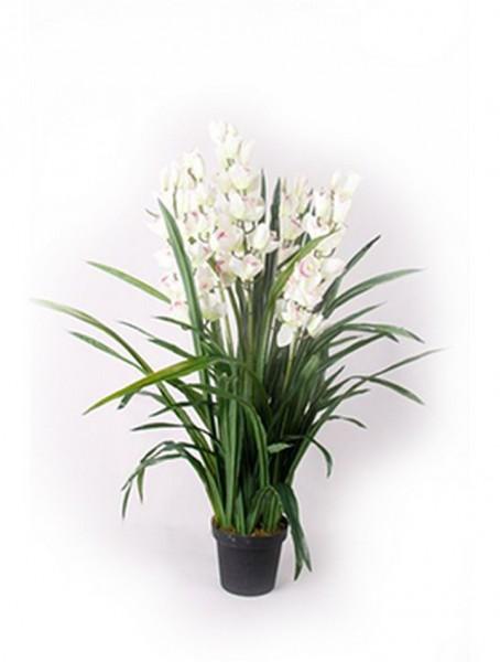 Cymbidium cream 110 cm | Orchideen Kunstpflanze