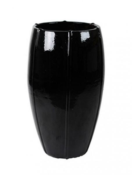 Keramikvase Black Moda 74cm