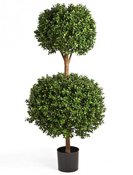 Buxus Doppelkugel Kunstbaum 125 cm