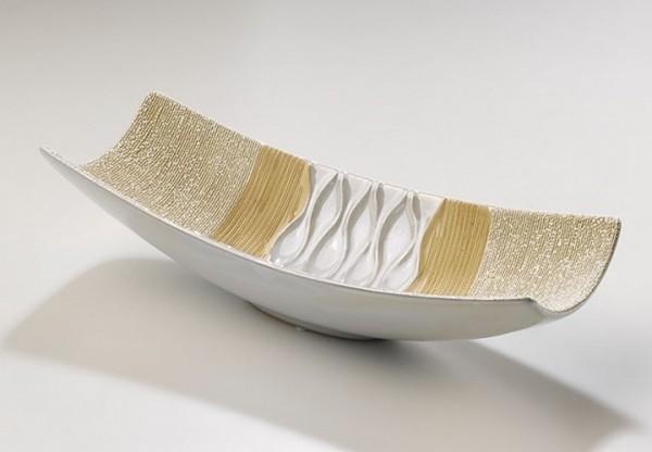 Zera Keramik Dekoschale 34 cm | Mare