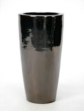 Partner Vase | Metallglanz Keramik