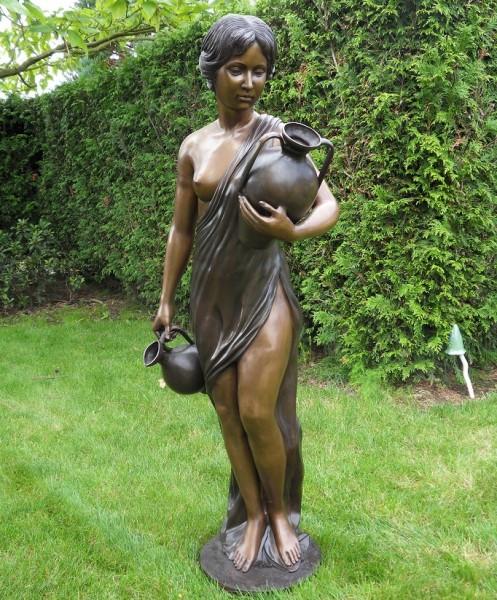 Antonia Akt stehend mit Amphore | Fountaine Bronzefigur